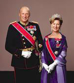 King Harald V and Queen Sonja of Norway