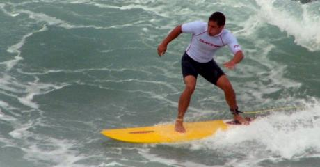 Surfing Stony Point